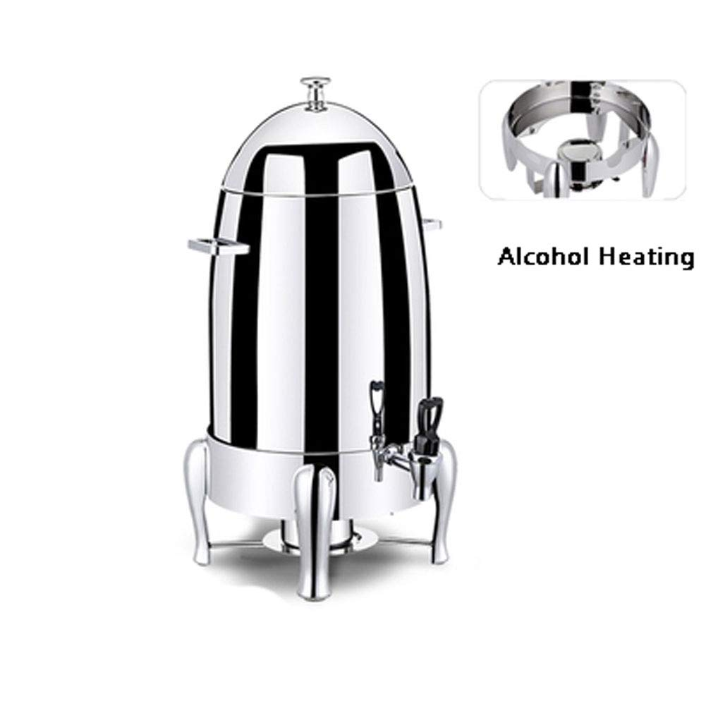 Aprilhp Commercial Stainless Steel Beverage Dispenser with Spigot, Water Dispenser with Large capacity 19L, Drink Dispenser for Bars, Hotels, Restaurants, Wedding reception,etc by Aprilhp