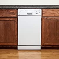EdgeStar 18 Built-In Dishwasher - White