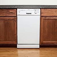 EdgeStar 18 Built-In Dishwasher - White