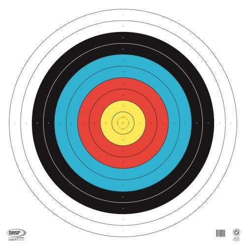 Maple Leaf Press Nasp Waterproof Target (25 Pack), Assorted, 80cm