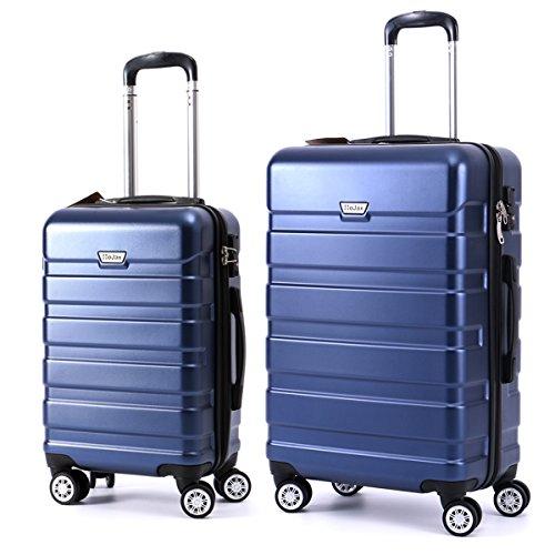 闪购! 拉杆行李箱两件套仅 $84.99!