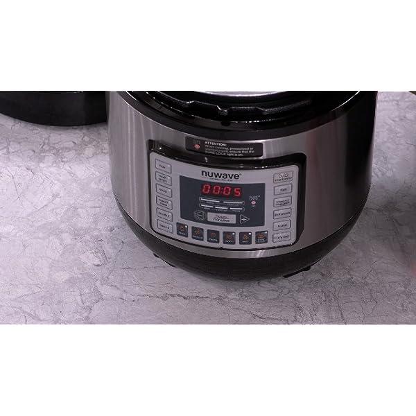 NUWAVE NUTRIPOT 6-Quart DIGITAL PRESSURE COOKER with Sure-Lock Safety System; Dishwasher-Safe Non-Stick Inner Pot; 11… 7