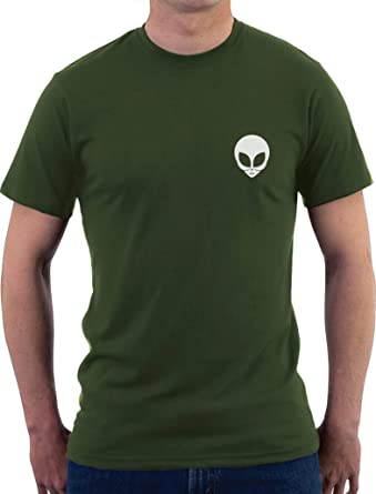 Green Turtle T-Shirts Fashion Swag Style - Alien T-Shirt Homme Small Army 131390fe0e5b