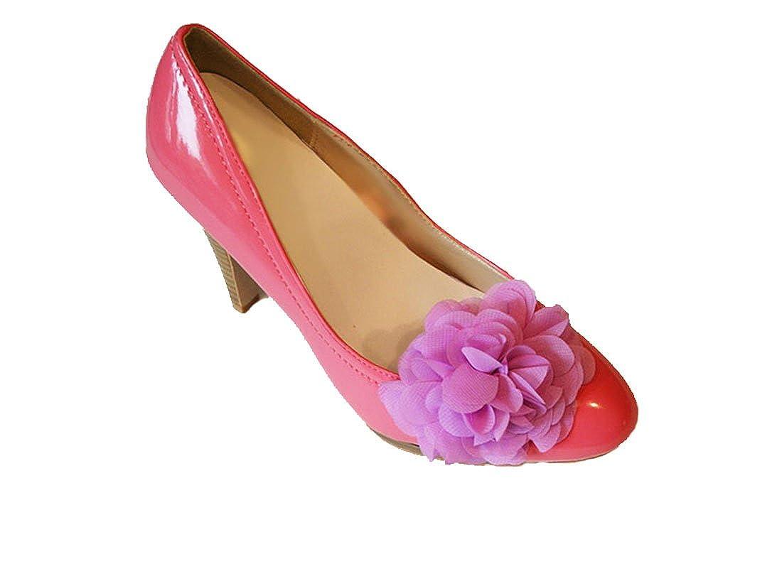 La Loria Accessoires Femme Clips pour chaussures Cute Flower vendus par paire