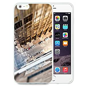 NEW Unique Custom Designed iPhone 6 Plus 5.5 Inch Phone Case With Look Down City Rooftop_White Phone Case
