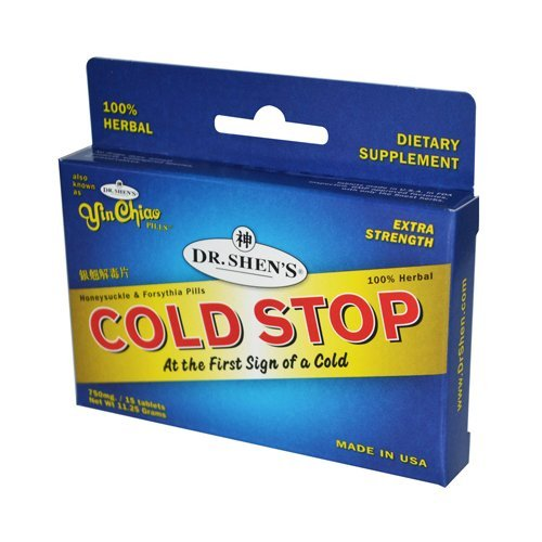 - Dr. Shen's Cold Stop, 15 Count by Dr. Shen's