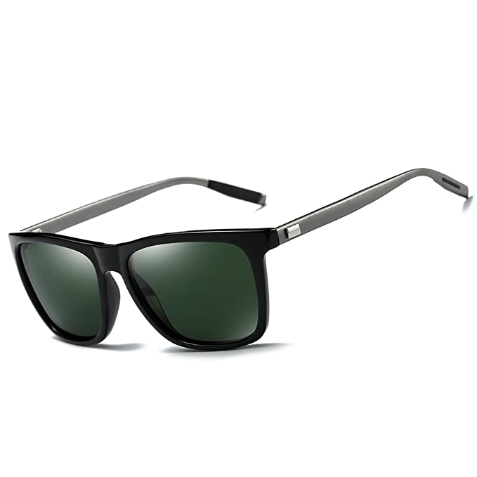 Amazon.com: Feidu polarizadas wayfarer anteojos de sol para ...