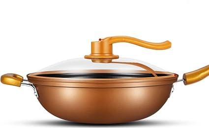 Sartén Antiadherente Sartén Sin Humo De Aceite Estufa De Gas De Cocina De Inducción De Olla