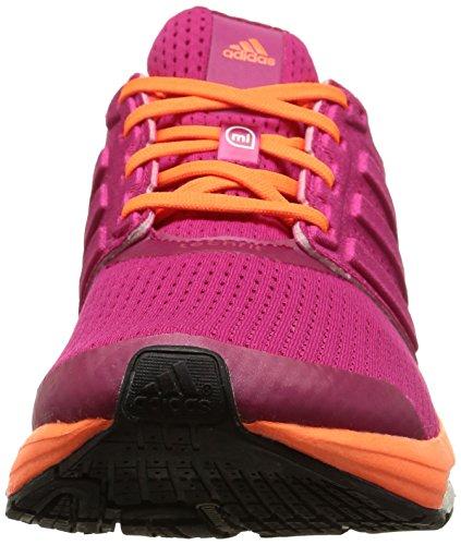 Naranja 7 Zapatillas adidas Magenta Supernova mujer W Glide Boost para CwpZxzq6U