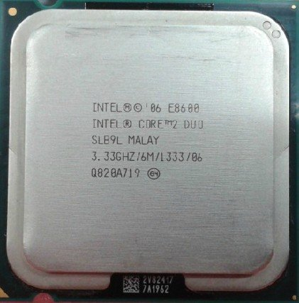 Intel Core 2 Duo E8600 SLB9L 3.33GHz Processor 1333 CPU Socket 775 LGA775