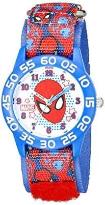 Marvel Kids' W001995 Spider-Man Analog Display Analog Quartz Blue Watch