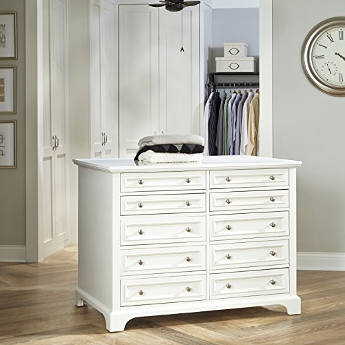 Home Styles 5530-940 Naples Closet Island by Home Styles
