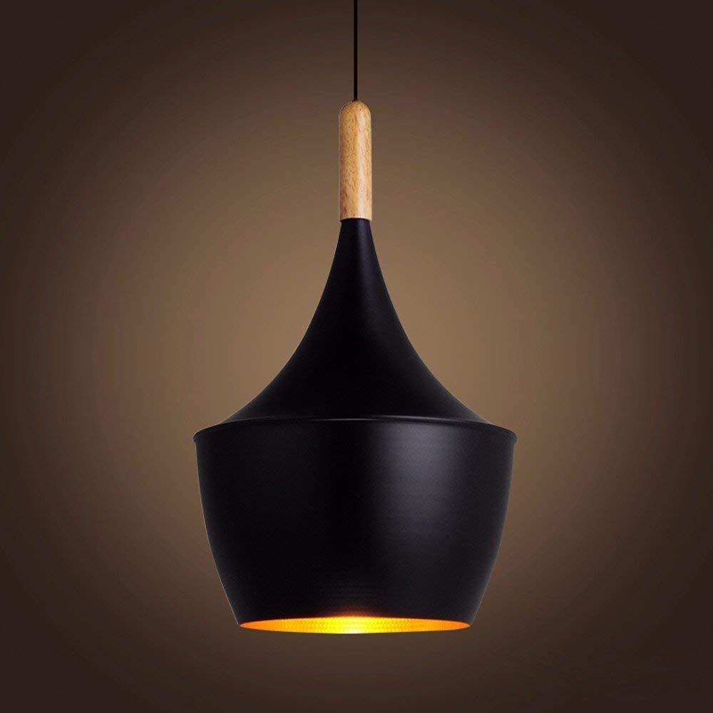 GUO Gzz Deng Home Outdoor Lighting Pendant Light Shade Industrial Hanging Ceiling Lamp Chandelier 23X30Cm Living Room Restaurant Bedroom Lighting