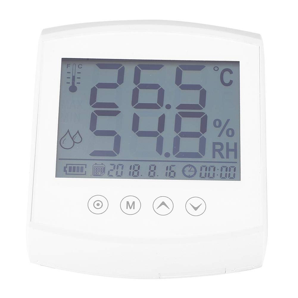 Digital Hygrometer Thermometer,Wall-Mounted Thermometer,with Imported Sensor,High Measurement Accuracy,Digital Indoor Room Thermometer Hygrometer Monitor Temperature and Humidity Meter by Thincol