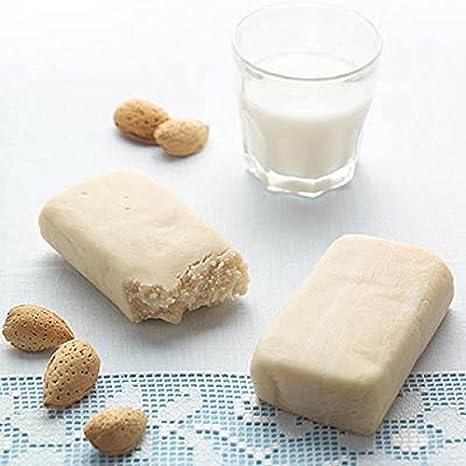 Bloque de pasta de almendras sicilianas de calidad suprema (min.35%) de 500gr. Para leche de almendras suprema y típicamente siciliana! Producto artesanal: Amazon.es: Alimentación y bebidas