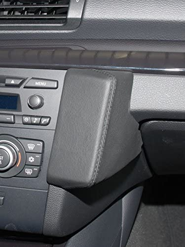 B001T1XUEM Kuda 092485 Leather Mount Black Compatible with BMW 1 (E81/E82/E87/E88) (2008-2012) 51bqV1FStkL.