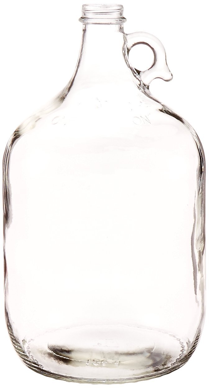 AGC OC-EP2C-0K74-MP-4 Glass Jug, 1 gal (Pack of 4) Home Brew Ohio