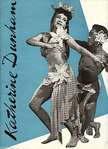"""Katherine Dunham """"TROPICAL REVUE"""" Musical Dance Revue 1944 Souvenir Program"""