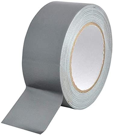 6 X ROLLS OF QUALITY WHITE GAFFER CLOTH DUCT TAPE 25mm x 50M VERY STRONG