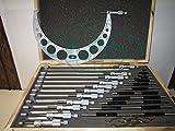 0-12' Precision outside micrometer set 0.0001' carbide standards 12pcs/set