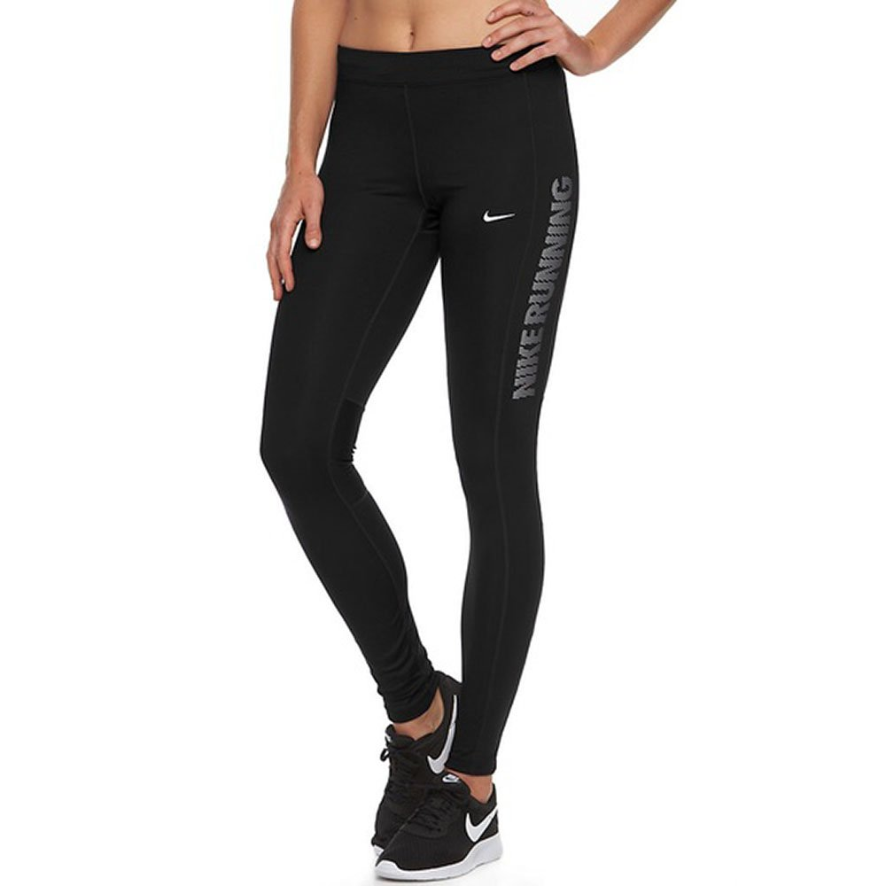 a3b4854eca8e3 Wide elastic waistband with interior drawstring for an adjustable fit.  Zipper at ankles for an adjustable length. Nike power stretch and support