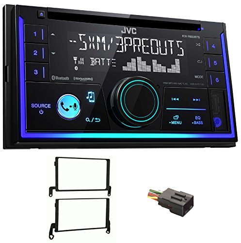 JVC Stereo CD Receiver w/Bluetooth/USB/iPhone/Sirius For 1999-2003 Ford F-150