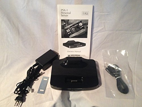 Universal Remote Control PSX-1 Personal Audio/Video Server iPod - Dock Remote Universal