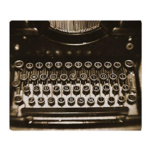 "CafePress - Vintage Typewriter - Soft Fleece Throw Blanket, 50""x60"" Stadium Blanket"