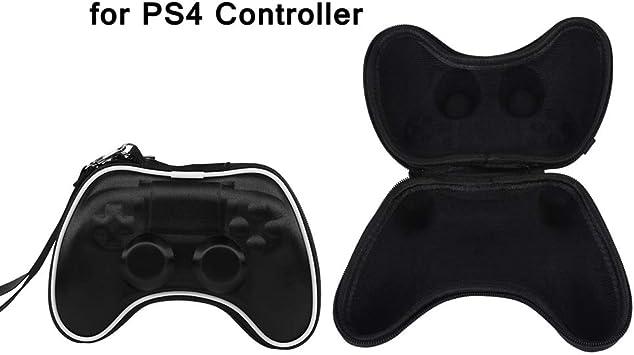 Vbestlife Bolsa de Viaje Portátil para Playstation 4 PS4 Resistente al Agua y a Prueba de Golpes Estuche de Almacenamiento para Controller Gamepad: Amazon.es: Electrónica