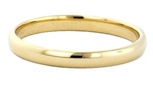 14k Gold Filled 3mm Plain Wedding Band Thumb Ring 6