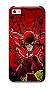 Iphone 5c Hard Case With Awesome Look The Flash