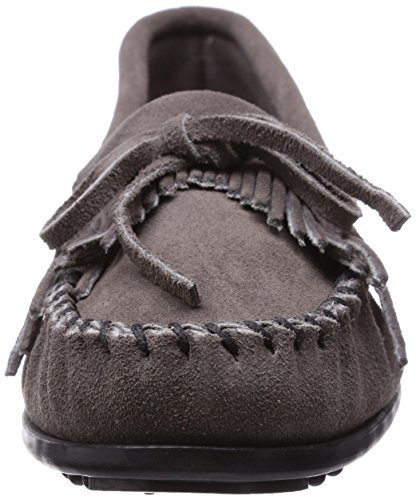 Minnetonka Women's Kilty Suede Moccasin