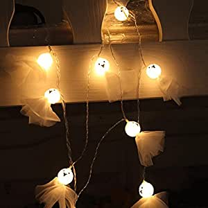 Ghost-Shape String Lights Patio Lawn Garden Party and Holiday Decorations Themed Lights