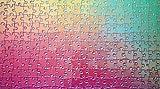 1000 Changing Colors Jigsaw Puzzle Colour Spectrum CMYK Gamut Iridescent by Clemens Habicht