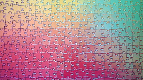 1000 Changing Colors Jigsaw Puzzle Colour Spectrum CMYK Gamut Iridescent by Clemens Habicht