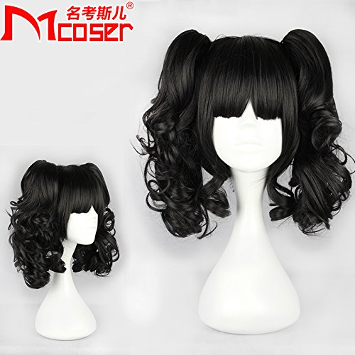 Mcoser Multi color Straight Ponytails Cosplay product image