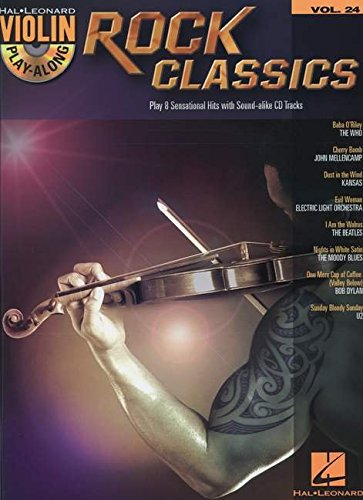 (Rock Classics: Violin Play-Along Volume 24)