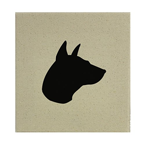 Style in Print Stretched Natural Canvas Thai Ridgeback Silhouette By 12''X12'' by Style in Print