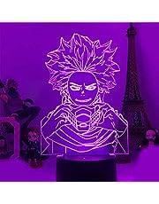 Anime My Hero Academia Figuren 3D LED Nachtlampje USB Baby Slaap Tafellamp Home Decor Kind Jongen Kid Speelgoed Vakantie Verjaardag Kerstspeelgoed