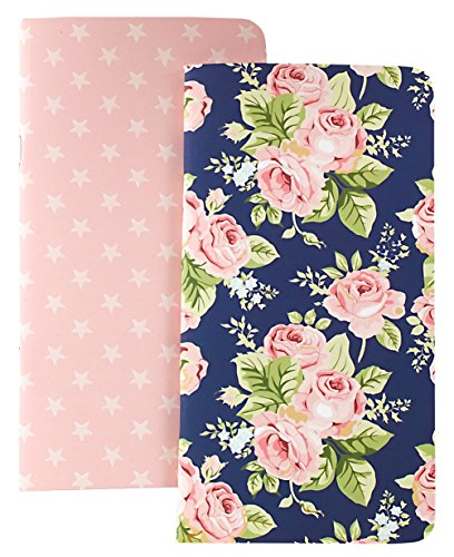 Webster's Pages Floral and Stars Travelers Planner Notepad Set IV (NP104)