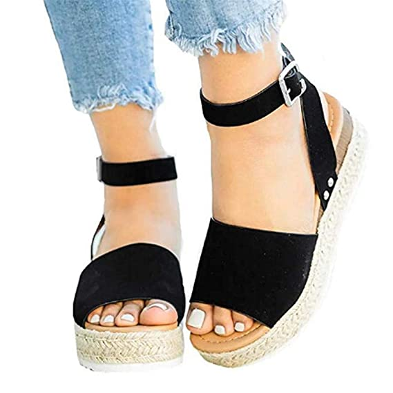 Ankle Strap Studded Open Toe Sandals