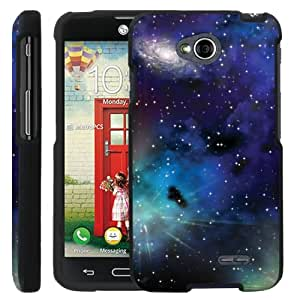 [ManiaGear] Design Graphic Image Shell Cover Hard Case (Night Space) for LG Optimus L70 / LG Optimus Exceed 2