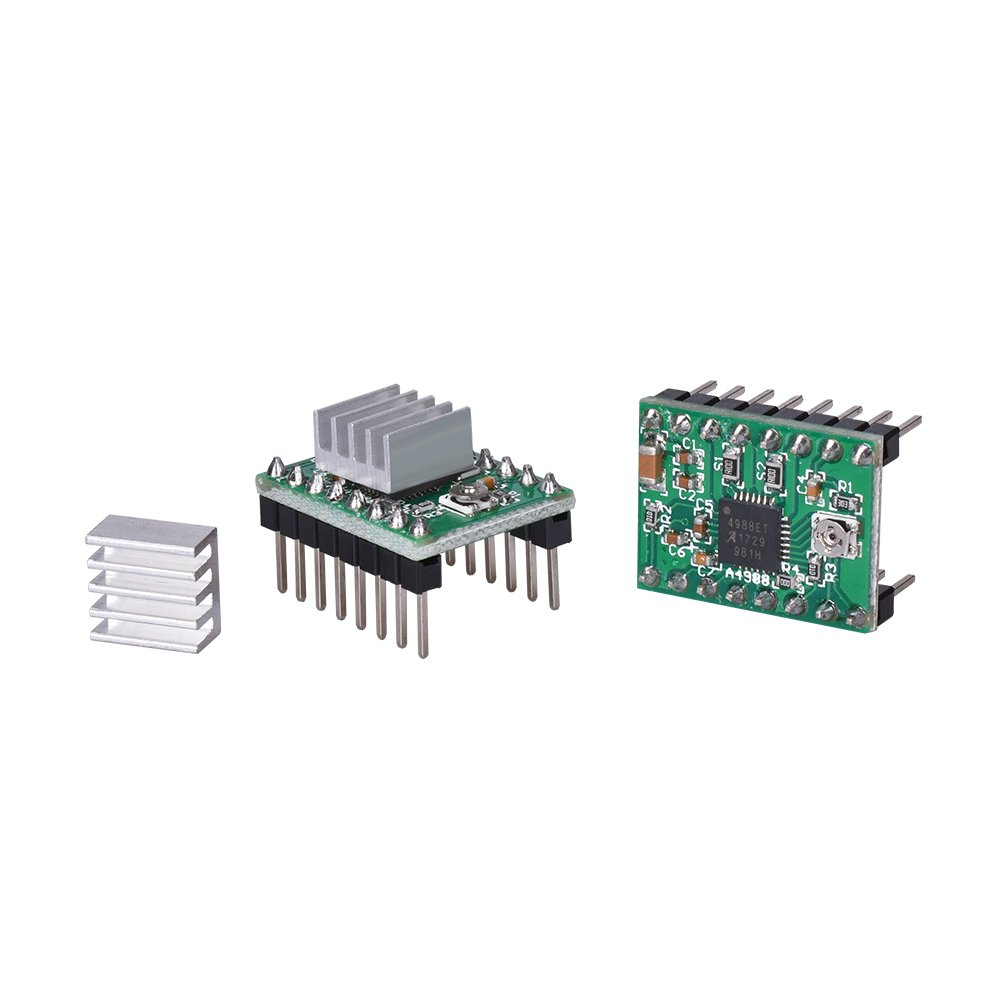 A4988 Stepstick Stepper Motor Driver Module for Reparp Mendel Prusa I3 Kossel 3D Printer LCD 12864 Module Display Monitor Motherboard BIQU KFB3.0 3D Control Board