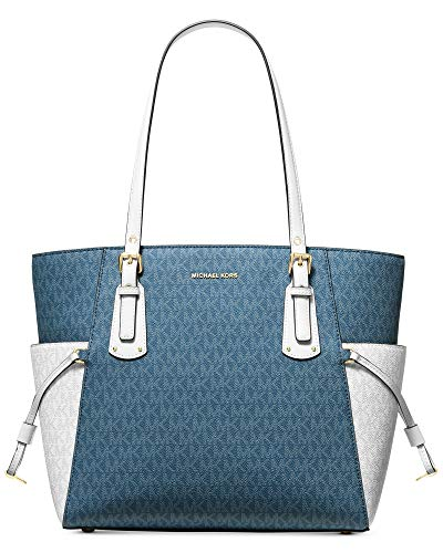 MICHAEL Michael Kors Mercer Leather Crossbody (One Size, DK CHMBRY MLT)