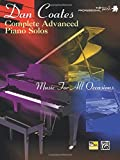 Dan Coates Complete Advanced Piano Solos - Music for all occasions