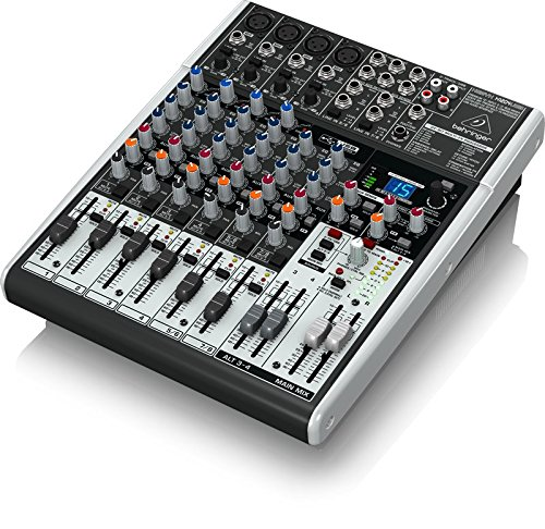 Behringer Xenyx X1204USB Premium 12-Input 2/2-Bus Mixer with USB/Audio Interface