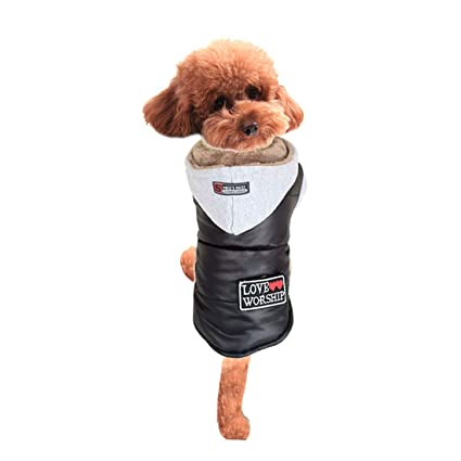 Mifusanahorn Ropa para Mascotas Abrigo Rompevientos Abrigo de algodón Ropa para Perros Ropa de Invierno Abrigo