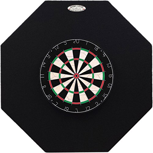 - Dart-Stop 36 inch Black Octagon Pro Dart Board Back Board | Wall Protector | Dartboard Surround