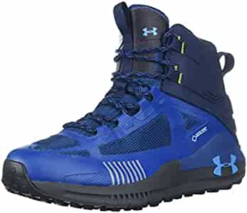 Amazon.com | Under Armour Mens Verge 2.0 Mid GORE-TEX, Academy (400)/Moroccan Blue, 8 | Hiking Shoes