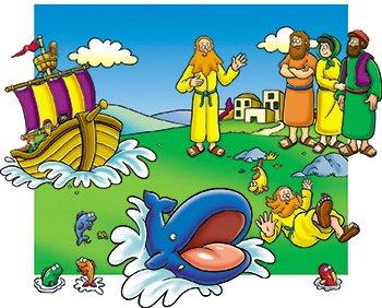Little Folk Visuals Beginners Bible Story of Jonah Felt Figures for Flannel Board Stories